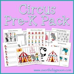 Circus Pre K Pack Expansion
