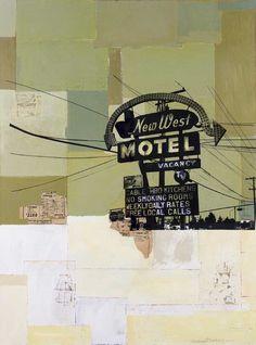 robert mars collage Artiste contemporain // une sélection de la galerie d'art contemporain TACT