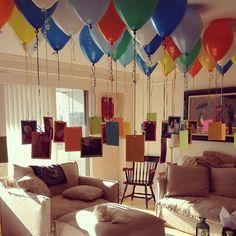 Fotoğraflar sizden balonlar bizden! Harika bir #doğumgünüsürprizi için…