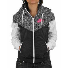 Nike Hooded Chevron Sportswear Jacket
