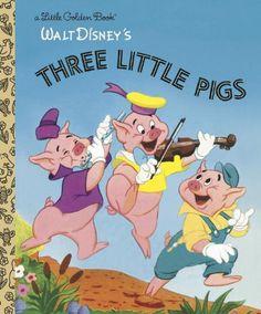 Three Little Pigs (Little Golden Book) by Golden Books http://smile.amazon.com/dp/0736423125/ref=cm_sw_r_pi_dp_LkUkvb0YWP7NA