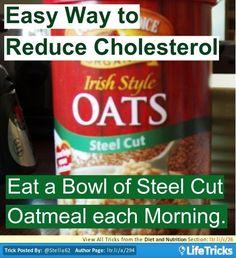 Ways To Reduce Cholesterol