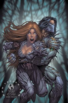 Witchblade & The Darkness by Dale Keown