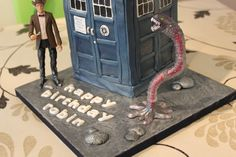 Atraxi Prisoner Zero Cake from Jonah and the Whale Cakes