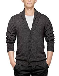 7.Match Men's Sweater Series Shawl Collar Cardigan