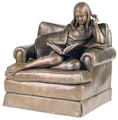 """Quiet Time"" sculpture by Susie Chisholm - photo by Sculptureworks"