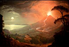Sebastian Pether, The Eruption of Vesuvius