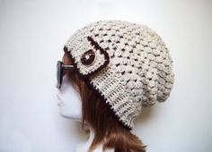 Items similar to Cream Women Slouch Beanie - Knitted Winter Fall Slouchy Hat - Oatmeal Womans Hat - Teen Girl Hat Natural Tweed on Etsy Handmade Products, Handmade Items, Slouch Beanie, Give It To Me, Fall Winter, Crochet Hats, Shops, Goals, Etsy Shop