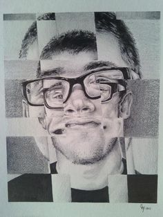 Claymactic Creations: Fractured Portrait
