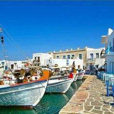 Charming little limani in Paros!!