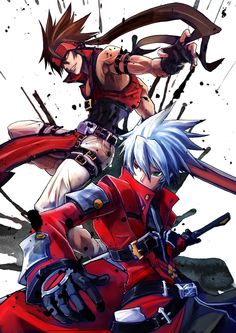 Sol Badguy and Ragna the Bloodedge