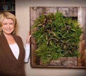 Martha Stewart likes GroVert Vertical Wall Planters too!  www.brightgreenusa.com