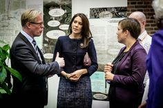 Crown Princess Mary has opened the Hospital+Innovation Congress at the Radisson Blu H.C. Andersen Hotel in Odense.