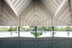 Alfriston School Swimming Pool, Beaconsfield  Winner: Structural Award  Main wood species: Scandinavian whitewood, glulam, CLT  Architect: Duggan Morris Architects