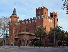 Castell dels Tres Dragons, designed by Lluís Domènech i Montaner. Barcelona.