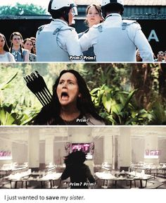It's sad how we get all caught up in the fact that she chose Peeta over Gale. But we forget that the only reason any of this happened was because she wanted to save Prim, and in the end, that was the one thing she couldn't do....