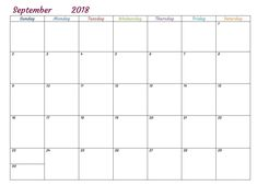 september 2018 calendar word calendar september 2018 word printable september 2018 calendar word september 2018 calendar word printable template september
