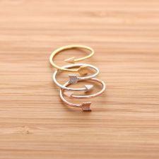 girlsluv.it - cupids ARROW ring, 3 colors