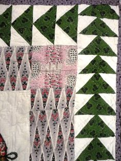 Tennants Auctioneers: 19th Century Scottish Patchwork Quilt</b>  There are other pictures at the source