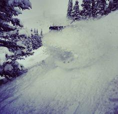 Record snowfall in Breckenridge, CO