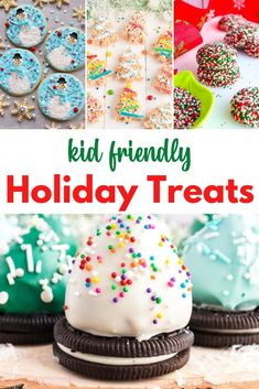 When it comes to the holidays, having some tasty holiday treats for kids is a great way for them to enjoy the festivities and get them in the holiday spirit. Get your kids involved with baking this holiday season with any of these mouth watering holiday desserts for kids.