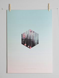 Hexagon Fade by Nynne Rosenvinge at Paper Collective supporting The Danish Sclerosis association :)