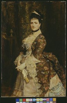 "Sir John Everett Millais: ""Mrs Bischoffsheim"", 1873, oil on canvas, Current location: London, Tate Collection"