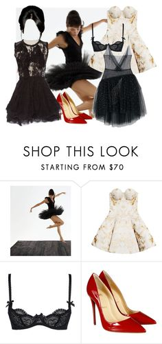 FtR by dodo85 on Polyvore featuring Josh Goot, Nina Ricci, L'Agent By Agent Provocateur and Christian Louboutin