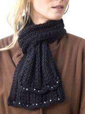 Free Knitting Pattern - Scarves: Elegance Scarf
