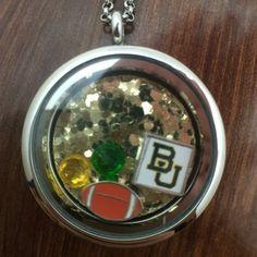 Baylor floating charm locket