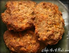 """Grain-Free """"Cheddar Bay"""" Biscuits"""