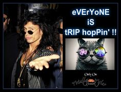 EVERYONE IS TRIP HOPPIN' ON THURSDAYS ONLY ON FACEBOOK/TOTALLY TYLER WITH @IamStevenT ... #TRIP #FAROUT #CRAZY #FUN #STEVENTYLER