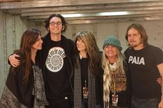 Willie Nelson's children Amy Nelson, Micah Nelson, Paula Nelson, Lana Nelson, Lukas Nelson