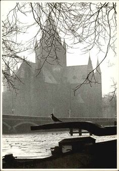 1968. View on the river Amstel and the Nieuwe Amstelbrug near the Ceintuurbaan…