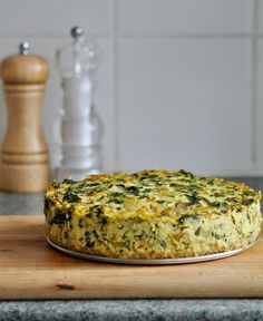 The Incredible Vegan Frittata Jumbo Chickpea Pancake | Save recipes from anywhere on your iPhone or iPad with @RecipeTin – without typing them in! Find out more here: www.recipetinapp.com #recipes #vegan #breakfast