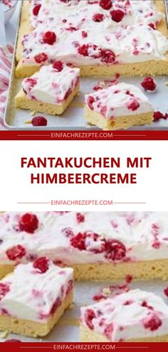 Fantakuchen mit Himbeercreme Fantakuchen mit Himbeercreme Fantakuchen mit Himbeercreme The post Fantakuchen mit Himbeercreme appeared first on Kuchen Rezepte. The post Fantakuchen mit Himbeercreme appeared first on Kindergeburtstag ideen. Raspberry Cream Cake Recipe, Ice Cream Recipes, Raspberry Recipes, Cinnamon Cream Cheese Frosting, Cinnamon Cream Cheeses, Cake Recipes, Snack Recipes, Dessert Recipes, Dessert Blog