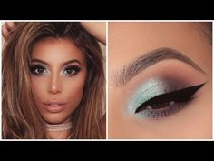 ICY BLUE EYESHADOW TUTORIAL