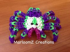 how to make minecraft spider rainbow loom - Google Search