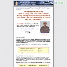 Training For Individuals Starting Their Own Window Tinting Business. See more! : http://get-now.natantoday.com/lp.php?target=cyberspa