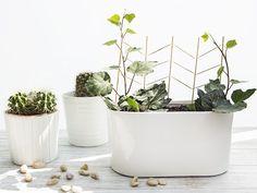 Tutorial DIY: Zrób podpórkę dla kwiatów z wykałaczek i patyczków do szaszłyków przez DaWanda.com Diy And Crafts, Planter Pots, Etsy Shop, Creative, Handmade, Garden, Vintage, Hand Made, Garten