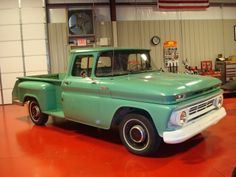1962 Chevy Truck ....I could almost forgive this guy for being a Chevy...Almost.