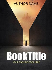 Sci-fi cover anyone? This simple yet bold cover will definitely catch your readers' eyes.