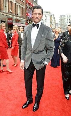 DJG arriving at the Olivier Awards 2016 wearing Chester Barrie, looking  gorgeous per usual!