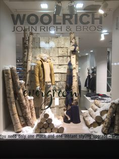 Woolrich for women an men Gränicher Luzern/ Sursee Not only Window Shopping! Styling by Philipp Brunschwiler Shops, Window Shopping, Windows, Women, Home Decor, Style, Retail Space, Dressing Up, Swag