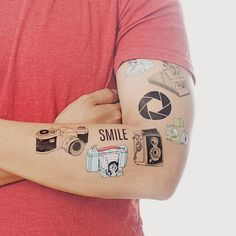 tattly- temporary tattoo set (photography, a gift for my nephew?)