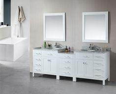 white double sink bathroom vanity cabinets stufurhome 60 inch from Double Sink Bathroom Vanity Bathroom Vanities For Sale, Bathroom Cupboards, Bathroom Vanity Designs, Double Sink Bathroom, Double Sink Vanity, Cheap Bathrooms, Bathroom Vanity Cabinets, Vanity Sink, Bathroom Furniture
