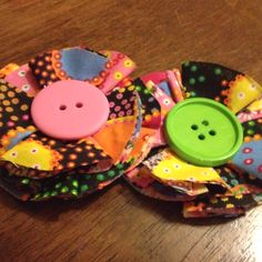 Cute craft for a little girls accessory!
