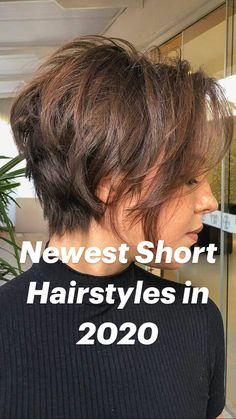 Short Layered Haircuts, Short Hairstyles For Thick Hair, Short Thin Hair, Haircuts For Fine Hair, Short Hair With Layers, Hair Short Bobs, Short Pixie Bob, Choppy Pixie Cut, Stylish Short Haircuts