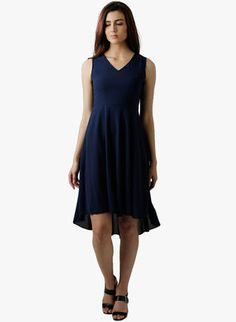 Wear your style Best Online Fashion Stores, Online Shopping Sites, Jumpsuit Dress, Buy Shoes, Asymmetrical Dress, Shoe Brands, Party Dress, Navy Blue, Dresses For Work