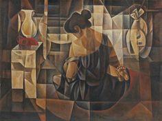 Vicente Silva Manansala (January 1910 - August was a Philippine cubist painter and illustrator. Manansala was born in. Filipino Art, Philippine Art, Madonna And Child, Cubism, Artists Like, Magazine Art, Art Market, African Art, Painting Techniques